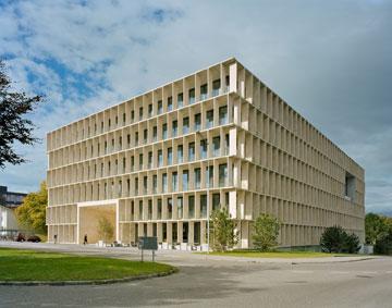 בניין המעבדות במכון ETH. החוץ פשוט... (באדיבות Baumschlager Eberle Wien ZT AG)