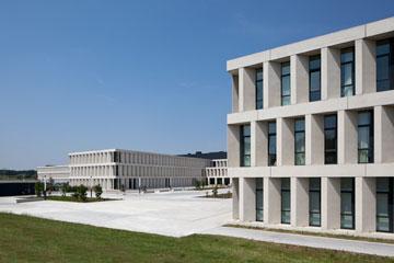 בית החולים בקורטרייק (באדיבות Baumschlager Eberle Wien ZT AG)