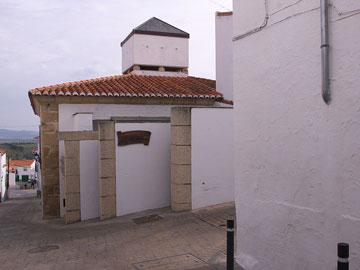 בית הכנסת באלקנטרה, ספרד. מאפיינים של אדריכלות יהודית (צילום: José Luis Filpo Cabana, cc)
