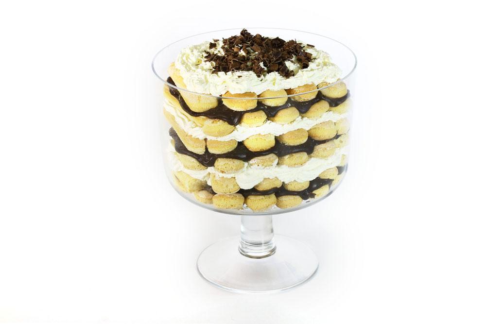 עוגת בישקוטים ושוקולד (צילום: אסנת לסטר)