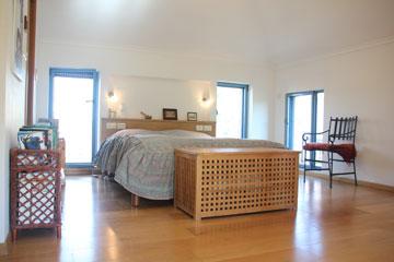 חדר השינה למעלה (צילום: מלכה שמיר)