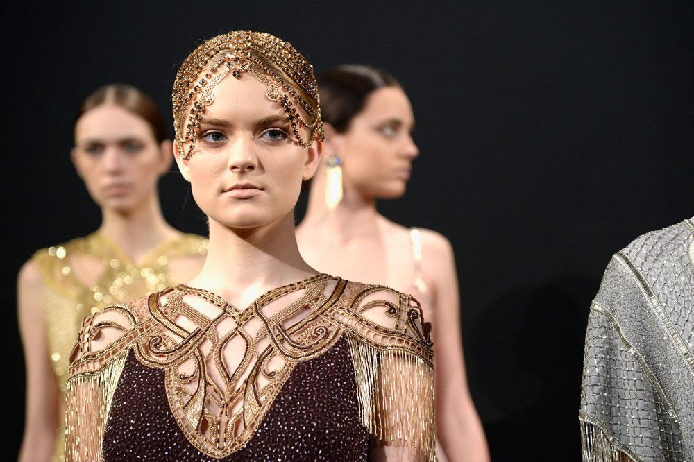 תצוגה של אלון ליבנה בשבוע האופנה בניו יורק. ההשתתפות באירוע הזניקה את הקריירה הבינלאומית והישראלית של המעצב באופן מטאורי (צילום: gettyimages)