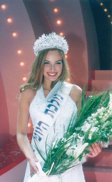 נפגשנו כך: מלכת היופי לשנת 2001 (צילום: ששון משה)