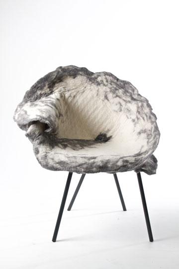 כיסא בעיצוב קבוצת hu.be
