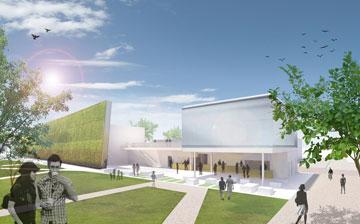 התערוכה העולמית מושכת מיליוני מבקרים (תכנון: קנפו כלימור אדריכלים , הדמיה: 3dvision.)