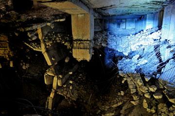 ההרס לפני תחילת השיפוץ (צילום:  IBA Hamburg GmbH / Johannes Arlt)
