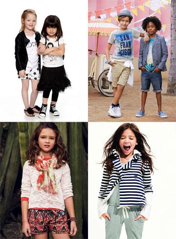 המתחרים על שוק בגדי הילדים בישראל: קסטרו, H&M, גאפ ומנגו קידס
