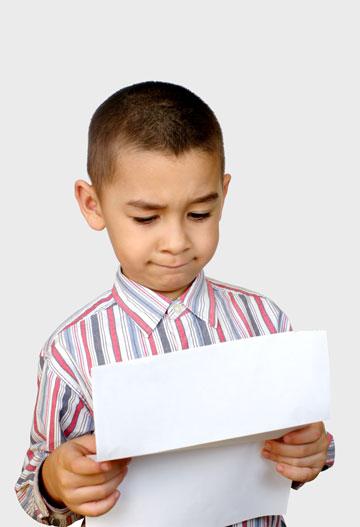 מקדו את הילד בצדדים החיוביים ולא בכישלונות (צילום: shutterstock)