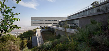 בית הסטודנט באוניברסיטת חיפה (צילום: עמית גרון)