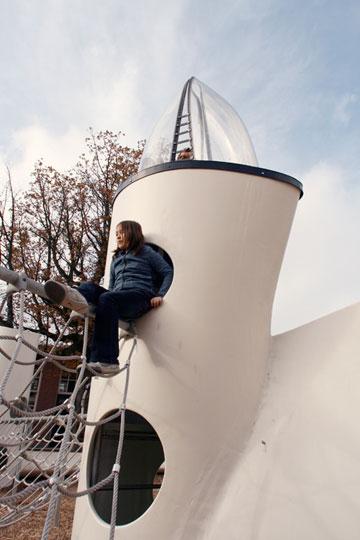 בהולנד, טחנות הרוח הישנות הפכו לאלמנט משחקי (צילום: Superuse Studios)