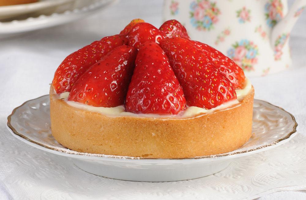 פאי תותים קלאסי (צילום: חגית גורן, סגנון: בלה רודניק)