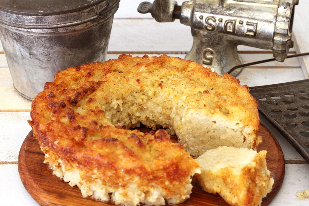 מנדבורצ'ניק - פשטידת תפוחי אדמה פולנית עם שמרים (צילום: אסנת לסטר)