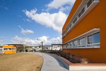 המוסד מנוהל כעמותה פרטית, שבבעלותה היה עד כה גן ילדים בלבד (צילום: טל ניסים)