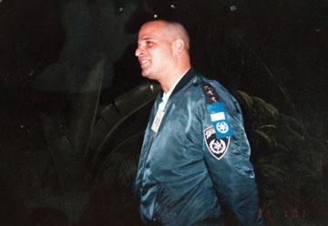 """רב פקד איליק (ישראל) סילברה ז""""ל (צילום רפרודוקציה: עדי אדר)"""
