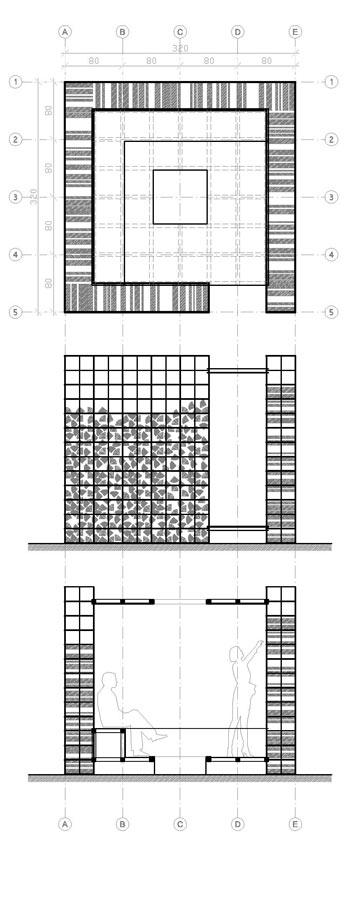 תוכנית הביתן. לאור ההצלחה, סיבוב שני (צילום: טלמון בירן, סטודיו לאדריכלות)