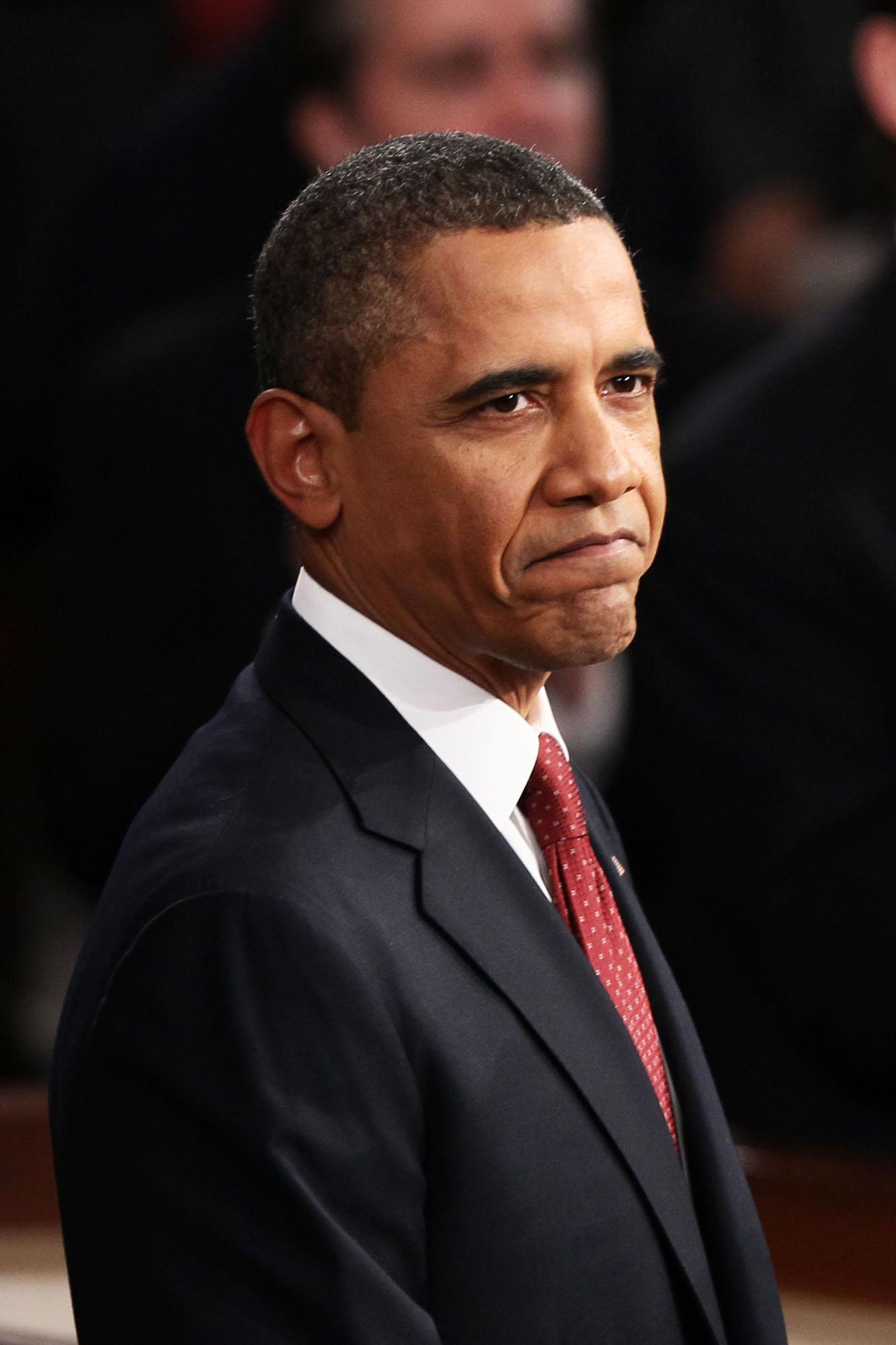 מישל נתנה לו להתמודד לנשיאות רק בתנאי שיפסיק לעשן. ברק אובמה (צילום: gettyimages)