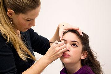 מאפרים את העיניים  (צילום: אלון קירה, ביה''ס לצילום)