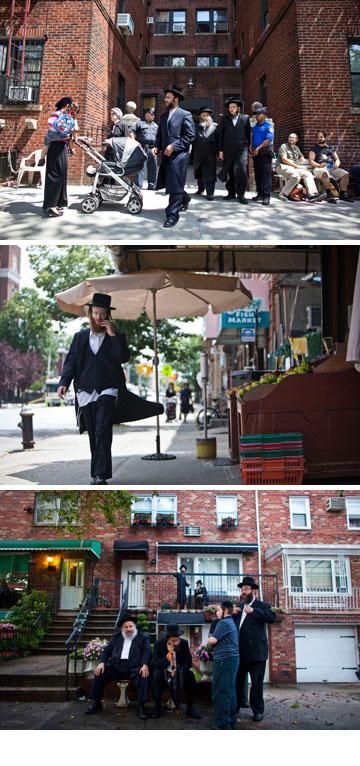 הקהילה החרדית בברוקלין. השכונה הפכה למעוז היפסטרים מובהק (צילום: gettyimages)