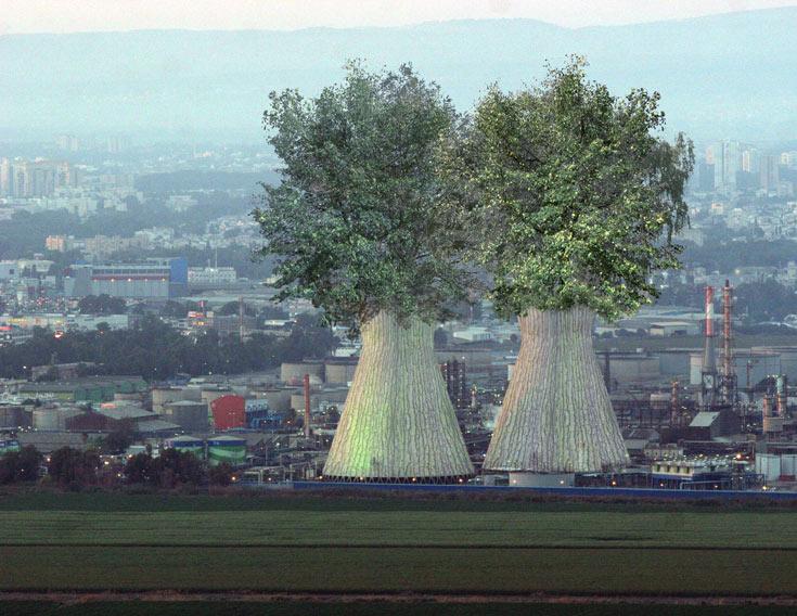 שיפסיקו לזהם ויתחילו להחזיר את האיכות לסביבה: הצמד קלוש-צ'צ'יק מחפשים את בתי הזיקוק ליערות מתפרצים (הדמיה: לירן צ'צ'יק וניצן קלוש- KCH)