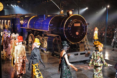 הרכבת של לואי ויטון (צילום: GettyImages)