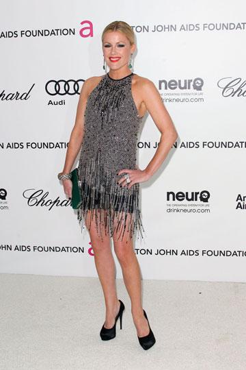 קתלין רוברטסון בשמלת פרנזים (צילום: gettyimages)