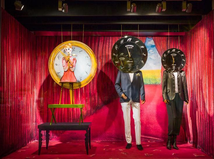 ההשראה: ''מתנת הזמן'', הקו הנוכחי של בית האופנה הנודע ''הרמס'' (צילום: Frank Tielemans)