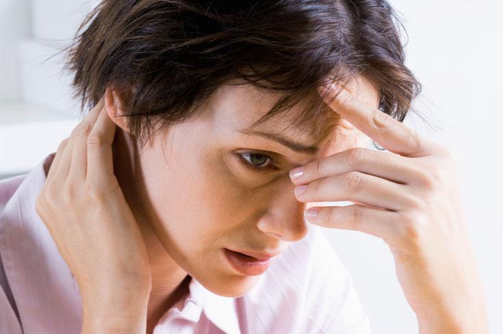 חרדה מתמשכת פוגעת בחשיבה ובריכוז (צילום: thinkstock)