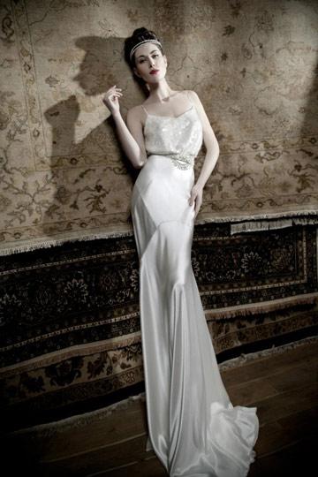 שמלת כלה של ליהי הוד. ''אני אוהבת לקבל השראה מהבנות עצמן'' (צילום: אלון שפרנסקי)