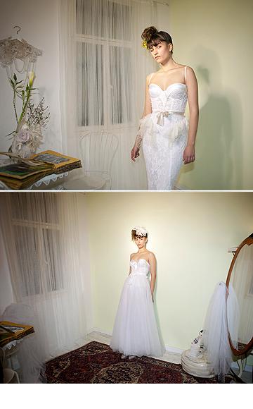 שמלות כלה של לוסי דוד. ''אני מרגישה שעכשיו אני באה מאהבה'' (צילום: דודי דיין )