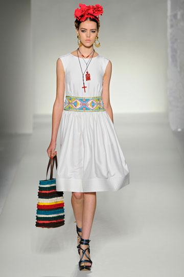 תצוגת אופנה של מוסקינו. יציגו בשבוע האופנה TLV במתחם התחנה (צילום: gettyimages)