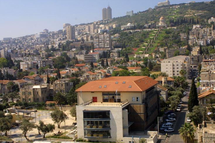 זהו, אגב, ויצ''ו חיפה. במחלקה לתקשורת חזותית לומדים 240 סטודנטים - בבצלאל ובחולון לומדים יותר (באדיבות ויצו חיפה)