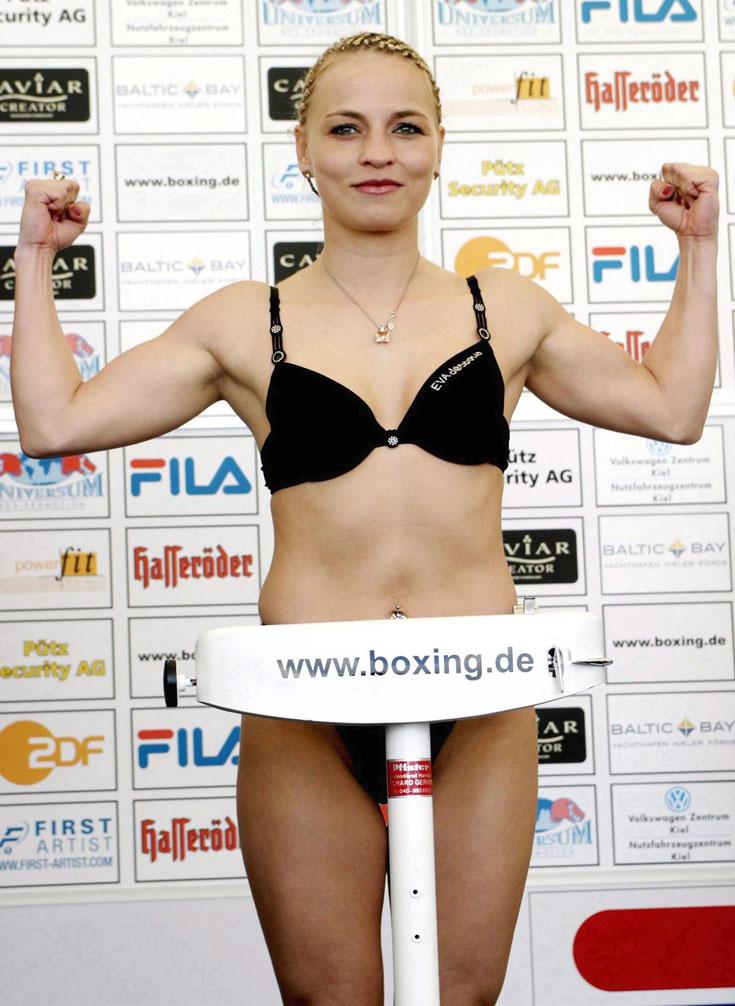 הפכה את אגרוף הנשים לפופולרי באירופה. ר'ינה הלמליך (צילום: gettyimages)