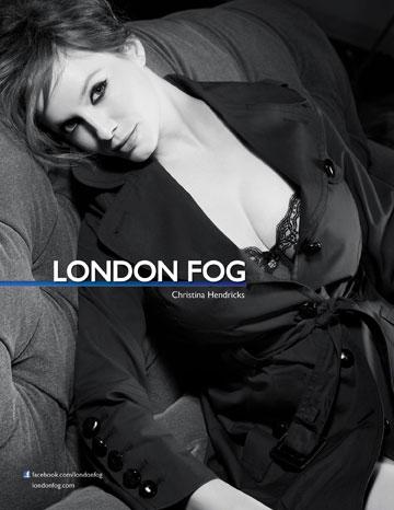 הנדריקס בקמפיין ל-London Fog
