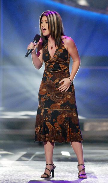 קלי קלרקסון, 2002. מתמודדת ב''אמריקן איידול'' (צילום: gettyimages)