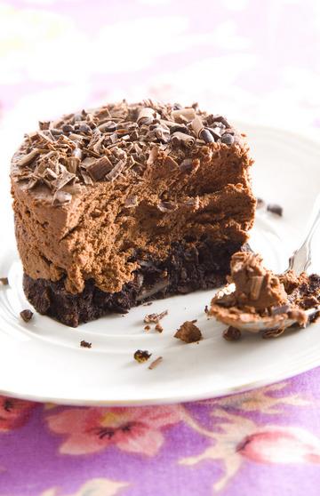 עוגת מוס שוקולד כשרה לפסח (צילום: דני לרנר, סגנון: נעמה רן)
