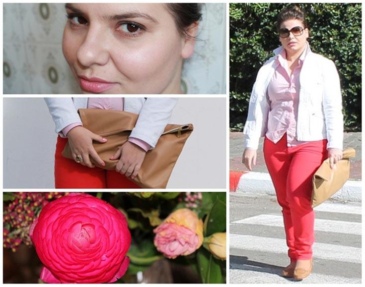 ורדים לרוב. הבלוגרית מיראל דושנסקי רומנטית (צילום: מיראל דושנסקי)