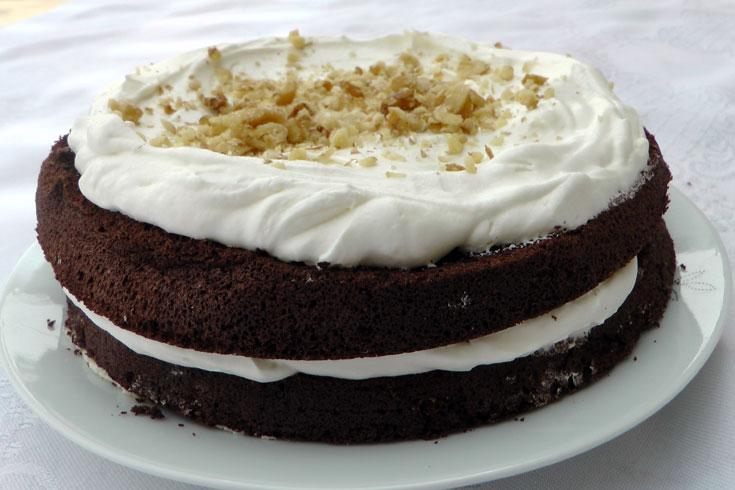 עוגת שכבות כשרה לפסח (צילום: אסנת לסטר)