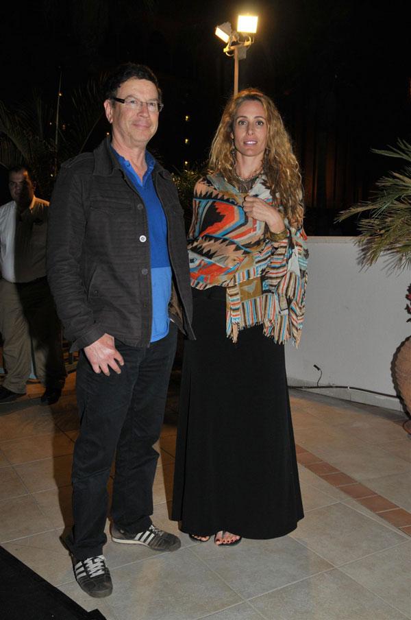 שכחנו שפעם הגשת חדשות. גדי סוקניק וזוגתו לימור פילו (צילום: יוד צילומים)