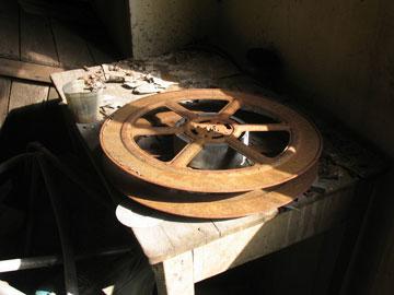 גלגל בקולנוע ''רמה'' ברמת גן (צילום: שרון רז)
