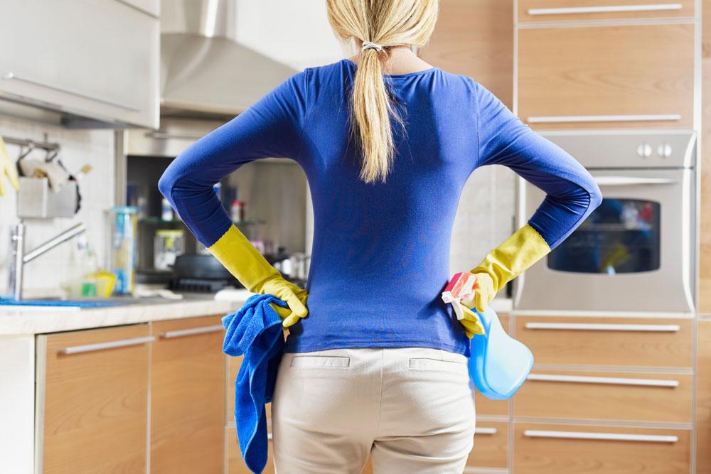 אין צורך לקחת ימי חופש כדי לנקות ולסדר את הבית הפסח, רק לארגן נכון את הזמן (צילום: thinkstock)