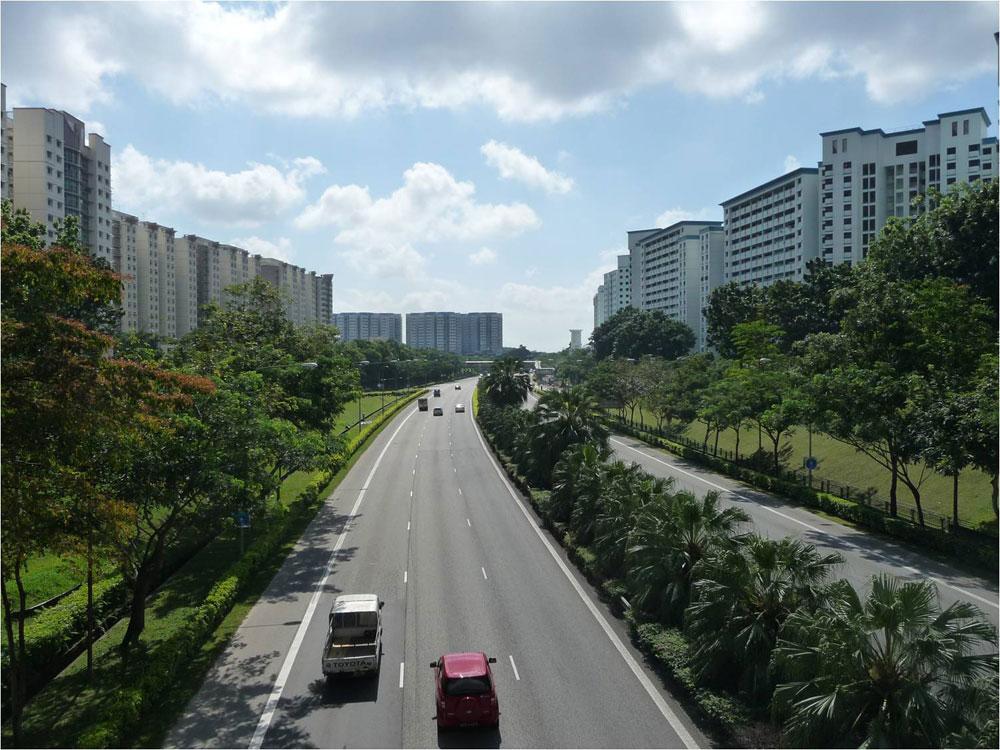 סינגפור. ''שתי הערים מנסות להפוך את הסביבה לאנושית יותר, למשל באמצעות הפיכת הרחובות לקלים לחצייה. זה לא מדע טילים'' (צילום: Brent Ryan)