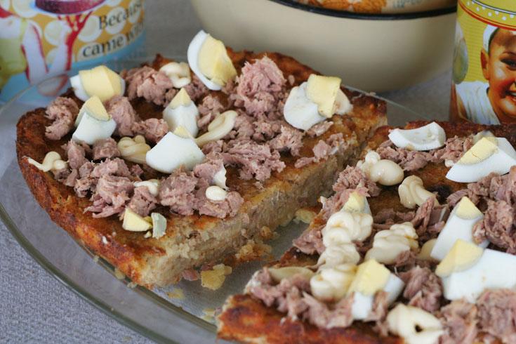 פשטידת טונה ותפוחי אדמה (צילום: אסנת לסטר)