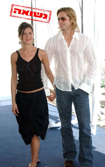 פעם הם נראו כמו הזוג המושלם. בראד פיט וג'ניפר אניסטון (צילום: gettyimages)