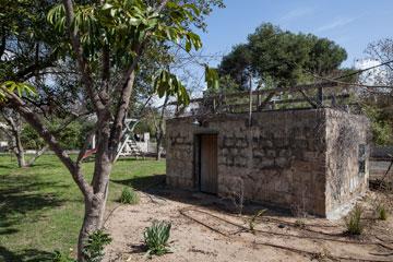 מבנה הבאר הישן (צילום: אביעד בר נס)