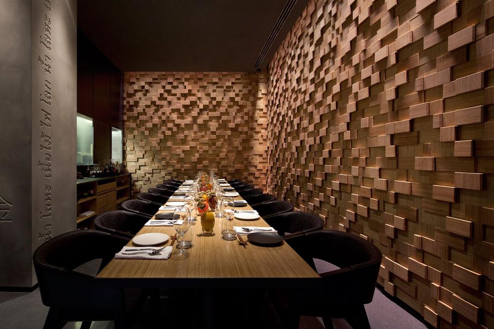 חדר האירוח הפרטי של טאיזו. עיצוב: פיצו קדם וסטודיו ברנוביץ-אמית (צילום: עמית גרון)
