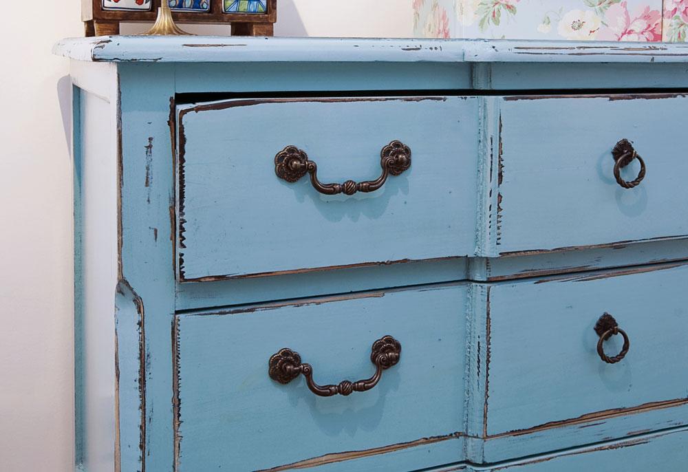 שיק עתיק. כל רהיט נראה אחרת (צילום: shutterstock)