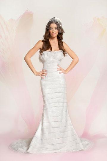 Wedding Dresses Outlet. עד 70 אחוז הנחה (צילום סשה אידלמן, סטודיו יקי הלפרין)