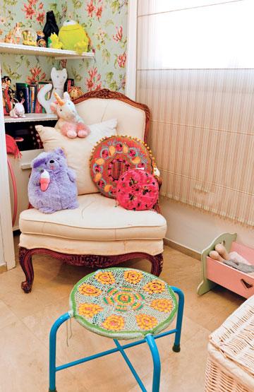 חדרה של הבת הגדולה (צילום: אבישי פינקלשטיין)