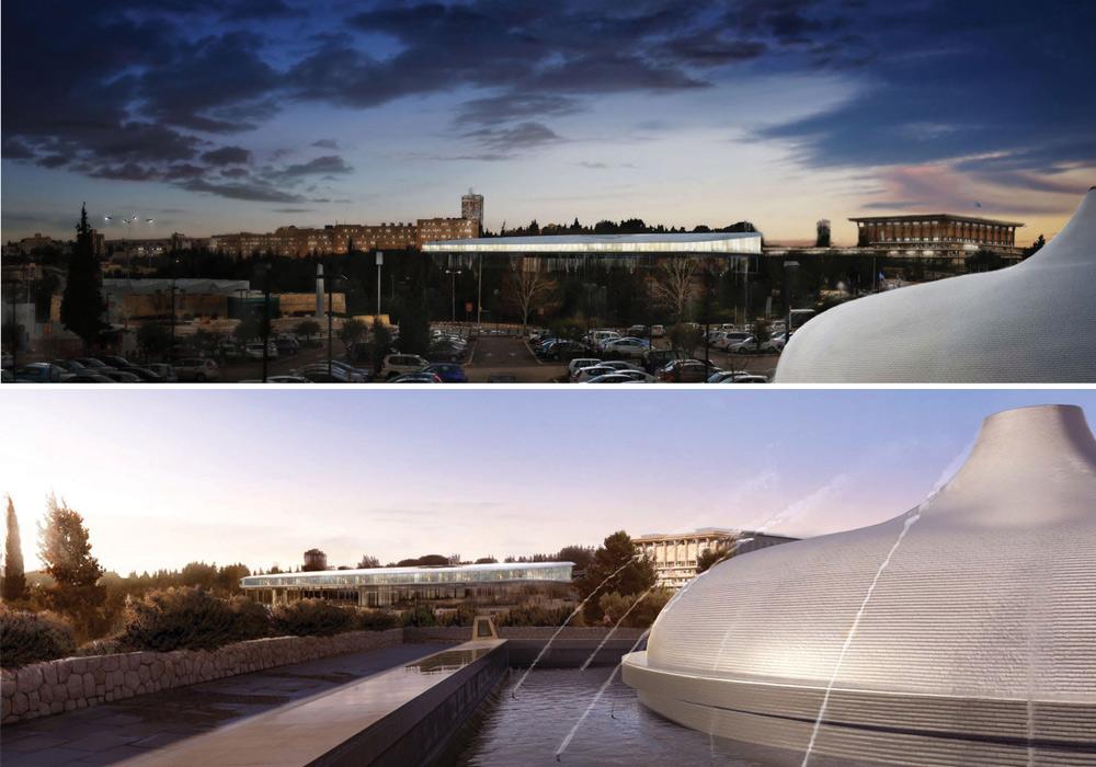 אנו מציגים, לראשונה, את רוב ההצעות שהתמודדו בתחרות לתכנון הספרייה הלאומית. התחרות בוטלה לתדהמת המשתתפים, ובראשם הזוכה שלא זכה - רפי סגל. הנה ההצעה של דניאל אסייג ואלכס מייטליס, בשיתוף גיטסהאם (באדיבות אדר' דניאל אסייג ואדר' אלכס מייטליס, בשיתוף Feilden Clegg Bradley Studios )