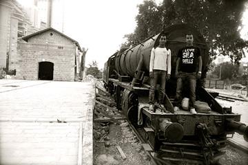 בתחנה בבאר שבע עוד יעמוד קטר (צילום: אבי פז)